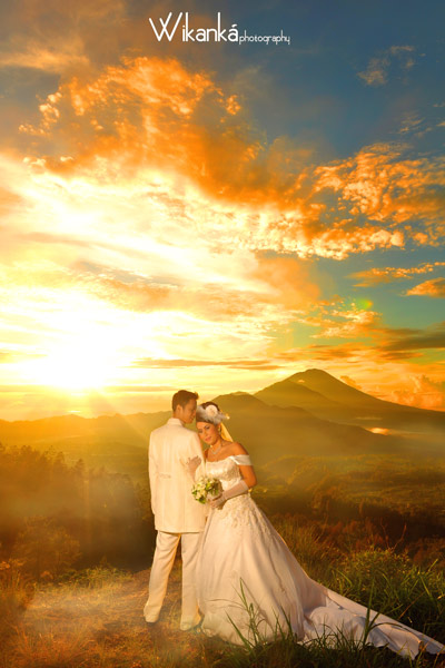 Prewedding Modern in Kintamani, Bali
