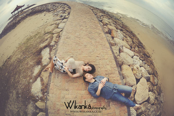 Prewedding Casual di Sanur