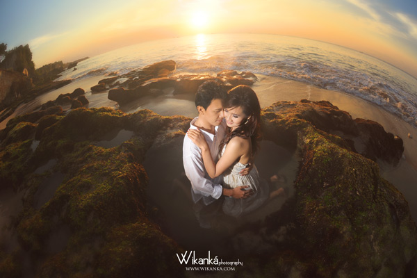Prewedding casual pantai tegal wangi