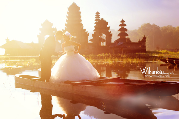Prewedding Casual di Danau Beratan, Bali