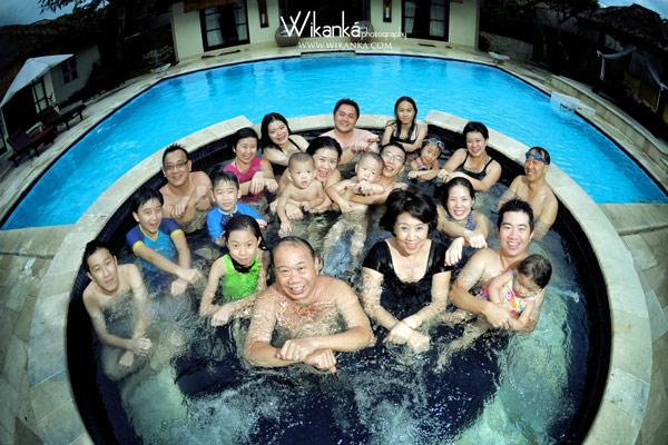 Family Photo In Bali