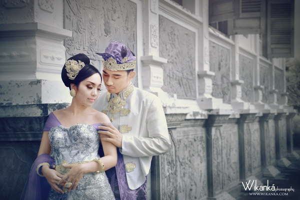 Prewedding Infrared di Taman Ujung