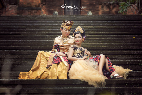 Prewedding Bali Natural Colour