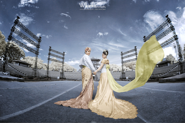 Prewedding Bali Infrared, Bali