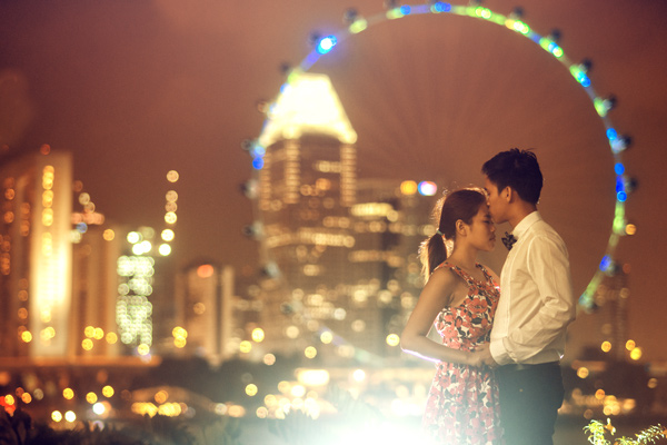 Prewedding at Singapore