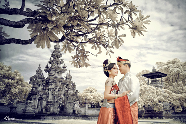 Prewedding Infrared at art center
